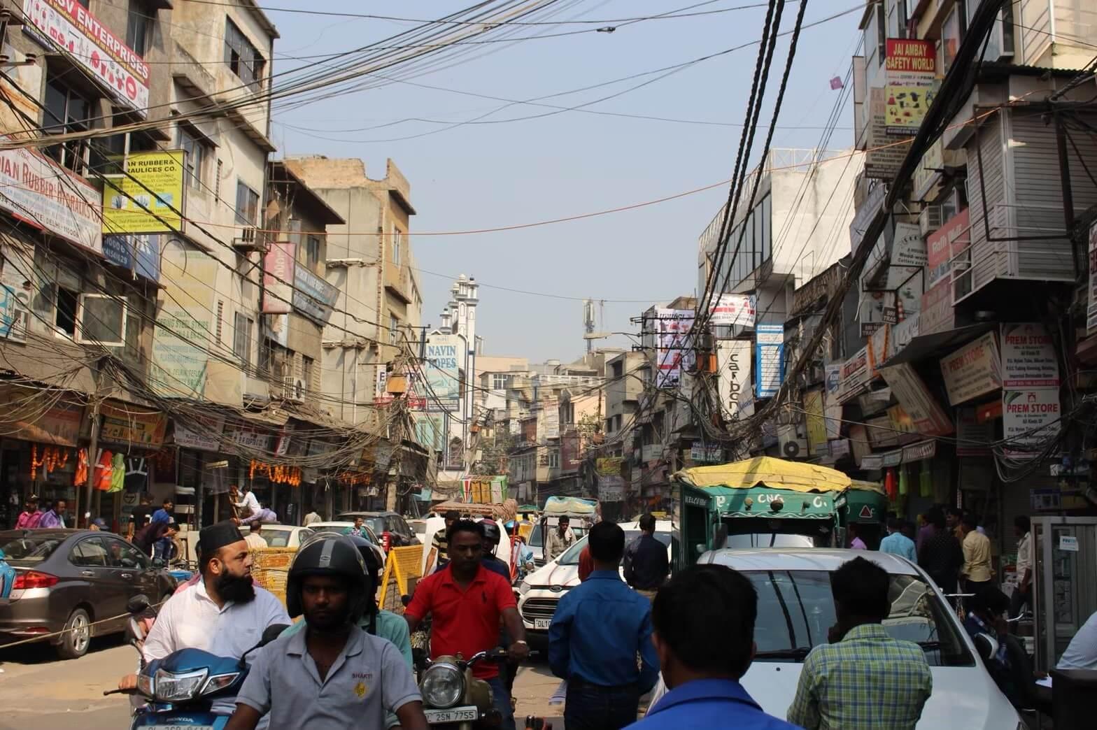【オールドデリー】街散策&インド最大のモスク🕌を観光